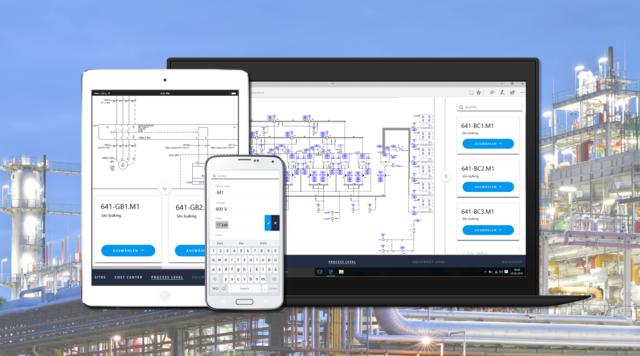 BU: Mit Aucotecs Engineering-Plattform kooperativ und sicher in der Cloud planen. Das System ist zudem unabhängig von Hardware und Client-Installationen an jedem Endgerät nutzbar. (© AUCOTEC AG)