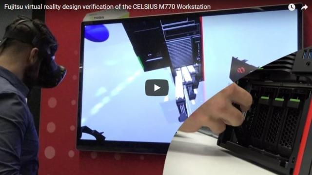 Fujitsu demonstriert Designverifizierung unter Verwendung von virtueller Realität