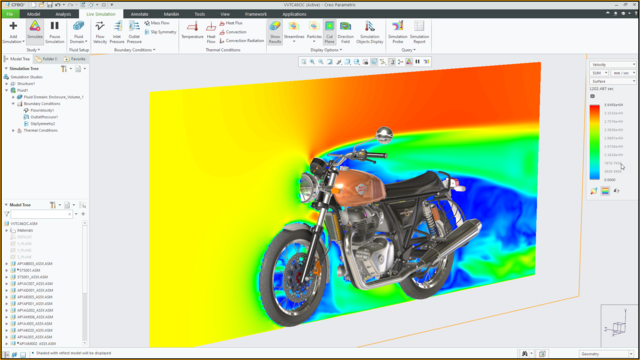3D-CAD-Software Creo