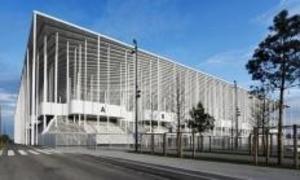 Das Stadion Matmut Atlantique in Bordeaux
